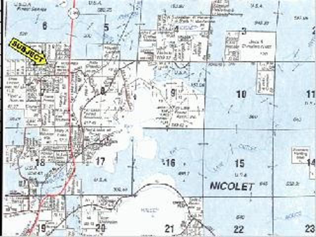 ON Settlement Rd #Lot 5, Long Lake, WI 54542