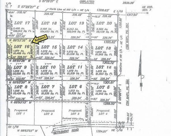 ON Settlement Rd #Lot 16, Long Lake, WI 54542