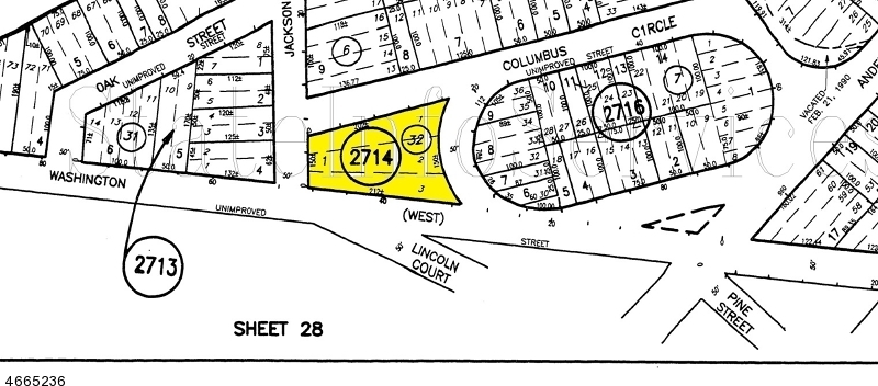 Jackson St, Mansfield Twp.,  07865