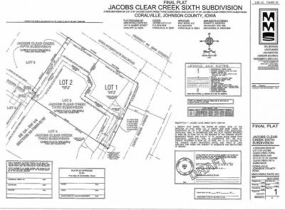 Photo of Lot 2 Jacobs 6th Addition, Coralville, IA 52241