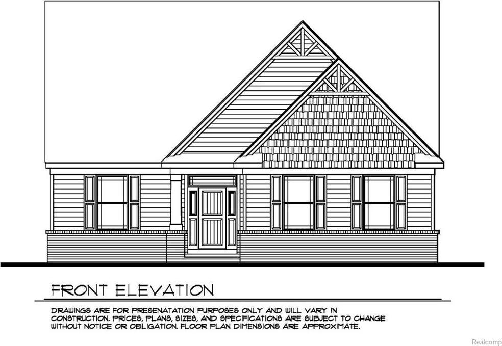 Deerpath Estates Lot # 4, Ortonville, MI 48462