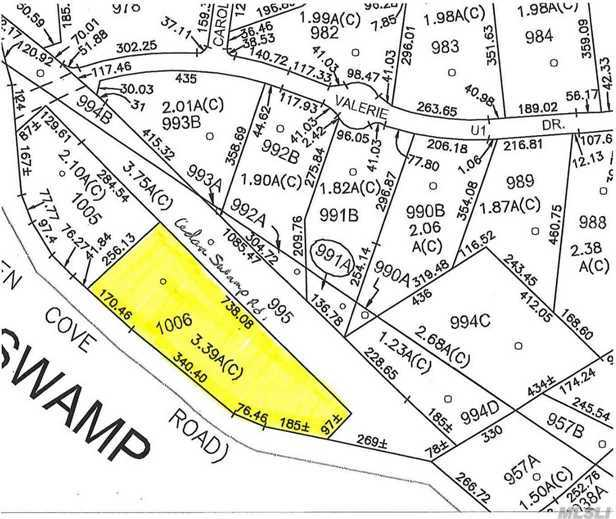 Lot 1006 Cedar Swamp Rd, Upper Brookville, NY 11545