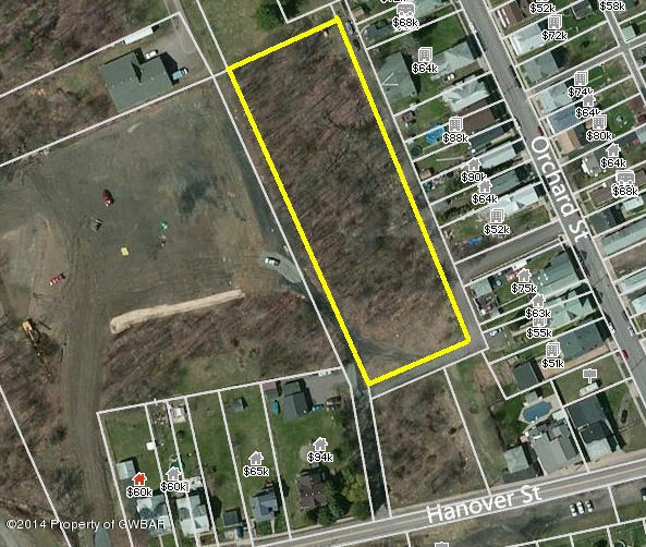 Lot 01B Rear Orchard Street, Warrior Run, PA 18706