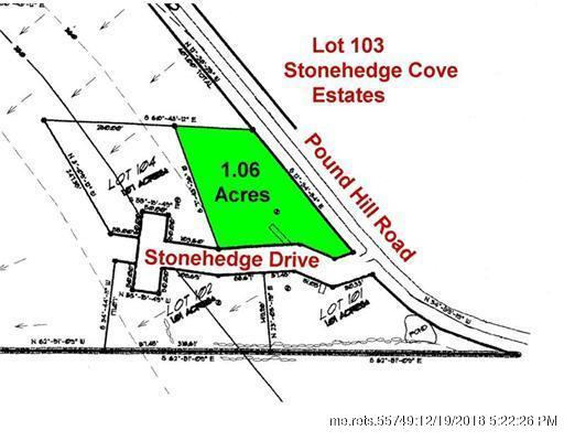 Lot 103 Pound Hill Road, Northport, Maine 04849