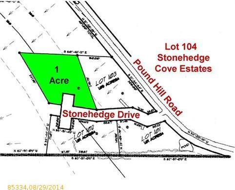 Lot 104 Stonehedge Drive, Northport, Maine 04849