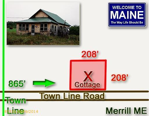 420 Town Line Road, Merrill, Maine 04780