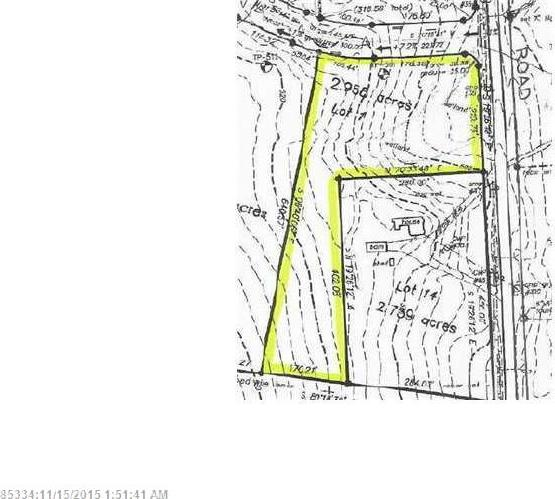 Lot 1 Fahi Pond Road/oakley Lane, Embden, Maine 04958