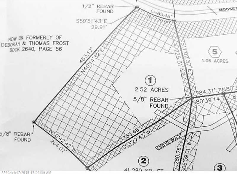 Lot 1 Moose Ridge Road, Dallas Plt., Dallas Plt, Maine 04970