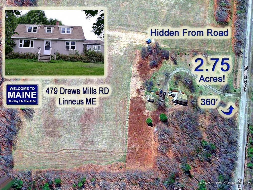 479 Drews Mill Road, Linneus, Maine 04730