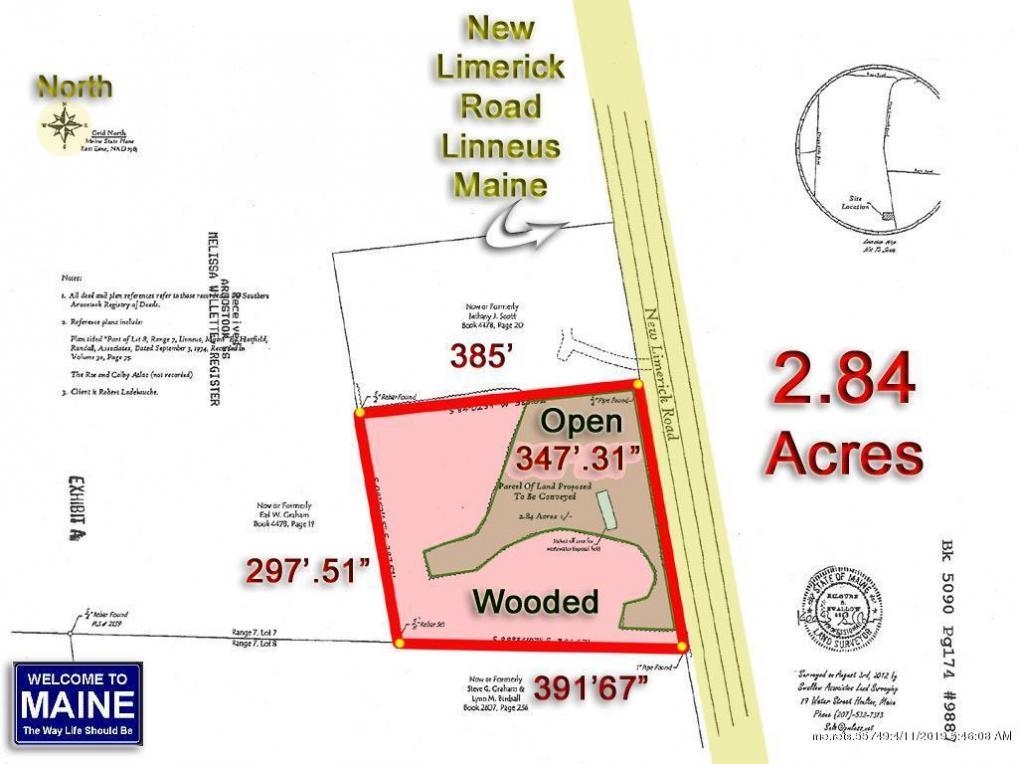 216 New Limerick Rd, Linneus, Maine 04730