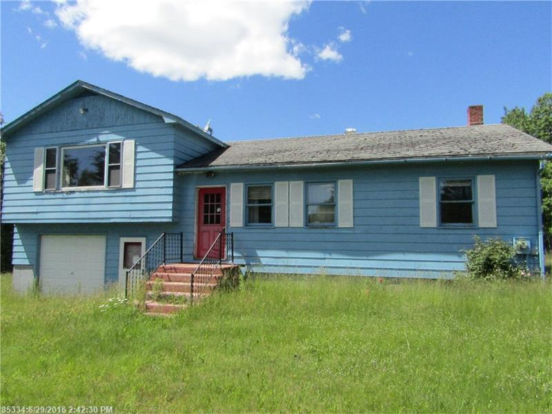 mls 1271422 1029 western ave dixmont maine 04932