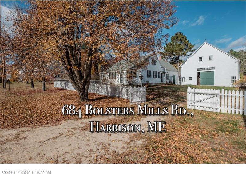mls 1287737 684 bolsters mills rd harrison maine 04040