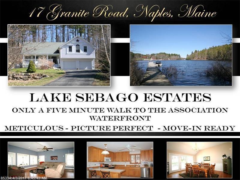 17 Granite Rd, Naples, Maine 04055