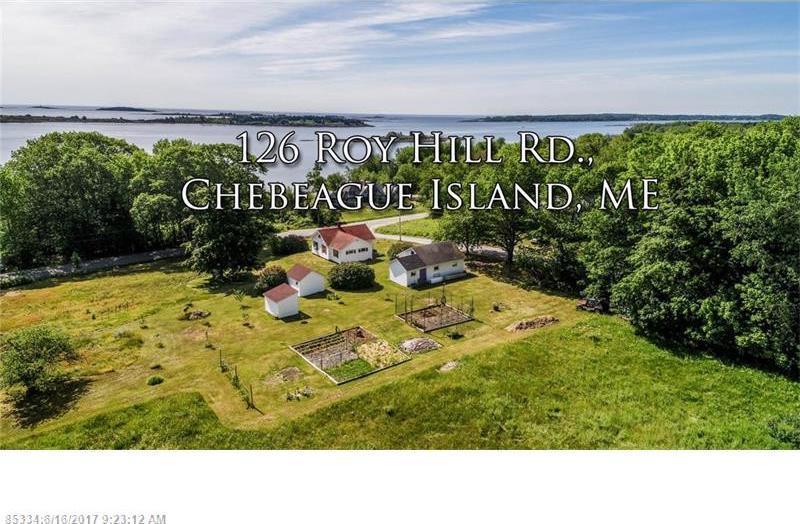 126 Roy Hill Rd, Chebeague Island, Maine 04017