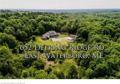 Photo of 652 Deering Ridge Road, Waterboro, Maine 04030