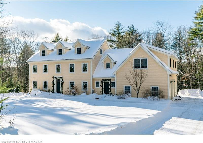 Mls 1319180 13 Stonewall Way Falmouth Maine 04105