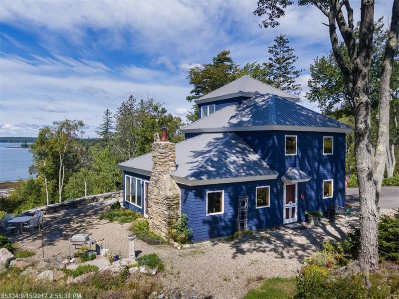 92 Cameron Point Rd, Southport, Maine 04576
