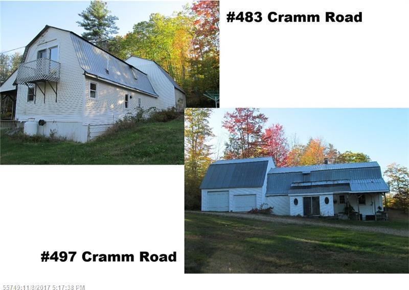 483 & 497 Cramm Rd, Parsonsfield, Maine 04047