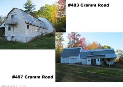 Photo of 483 & 497 Cramm Rd, Parsonsfield, Maine 04047