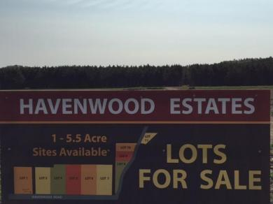 LOTS Havenwood Rd, Angelo, WI 54656