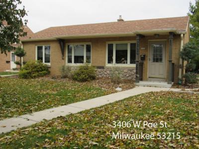 Photo of 3406 W Poe St, Milwaukee, WI 53215