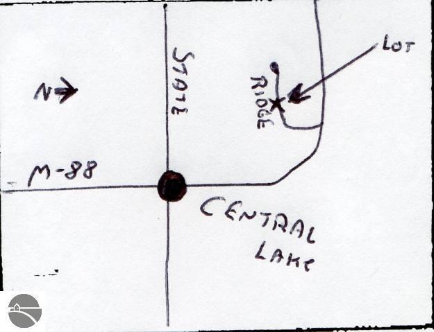 Ridge Drive, Central Lake, MI 49622