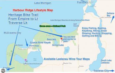 00 W Harbour Ridge, Maple City, MI 49664