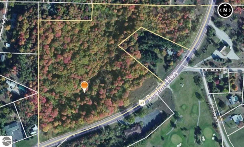 MLS US Beulah Highway Beulah MI - Us 31 highway map