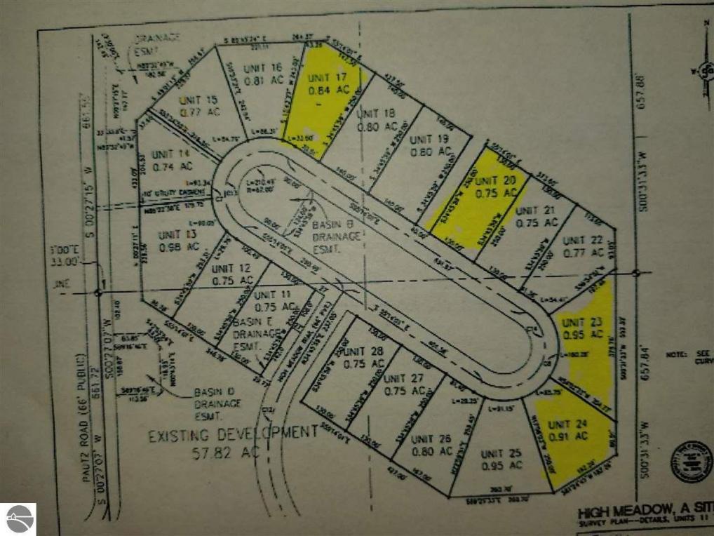 Lot 17,19,23,24 High Meadow Trail, Frankfort, MI 49635