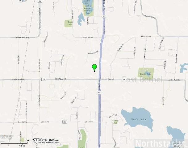 22126 NE Highway 65, East Bethel, MN 55011