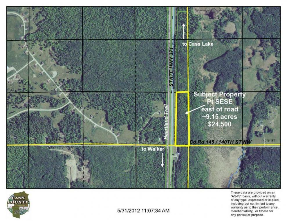 TBD County Road 145, Wilkinson Twp, MN 56633