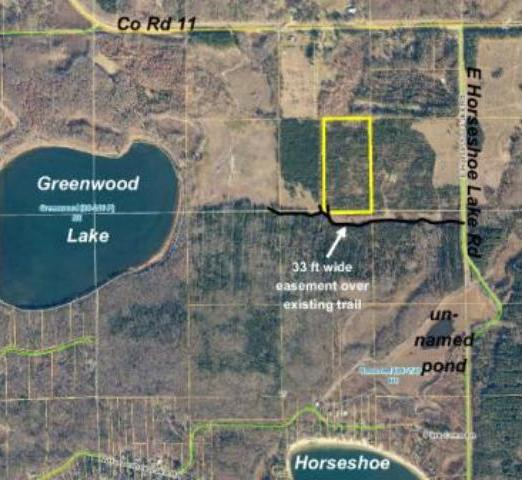 E2SWSE Horseshoe Lake Road, Mission Twp, MN 56465