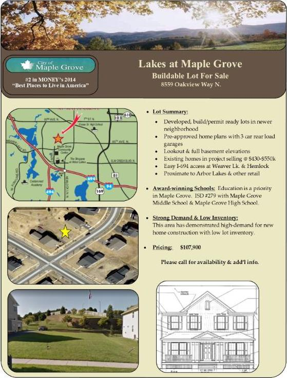 8559 N Oakview Way, Maple Grove, MN 55369