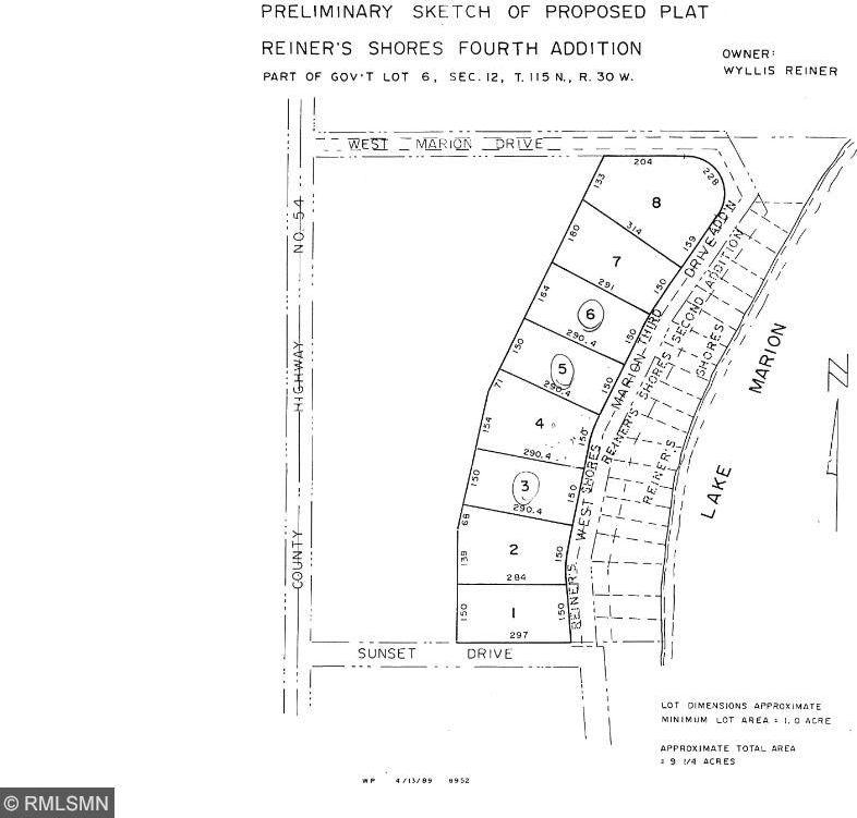 Lot 6 Sunset Circle, Hutchinson, MN 55350