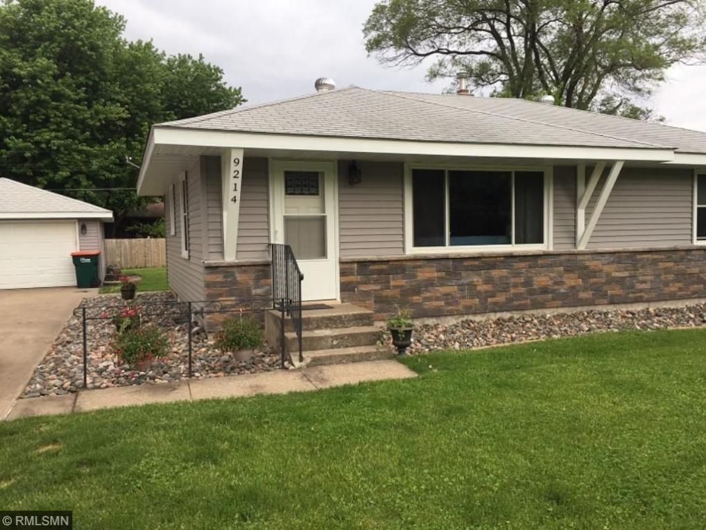 9214 NE Terrace Road, Blaine, MN 55434