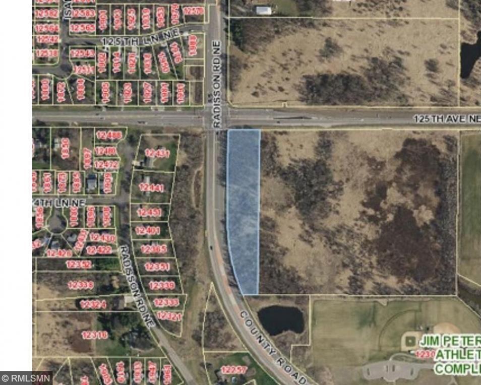 SE Corner of Radisson Rd Ne & 125th Ave Ne, Blaine, MN 55449