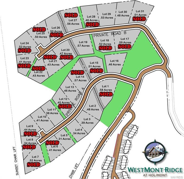 Lot #2 Westmont Ridge, Ellicottville, NY 14731