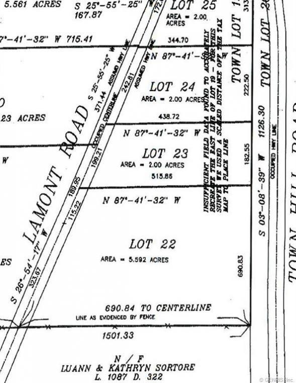 Lamont Road, Angelica, NY 14709
