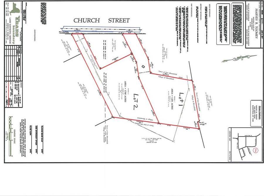 Church Street, East Bloomfield, NY 14469