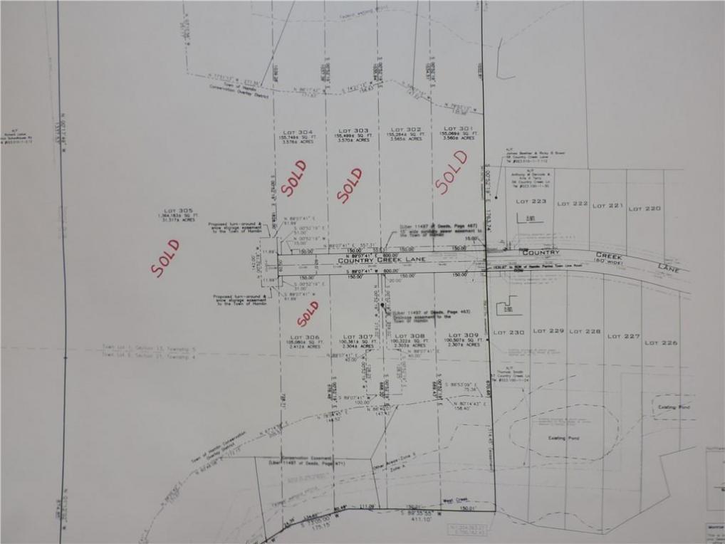 Lot 307 & 308 Country Creek Ln Lane, Hamlin, NY 14468