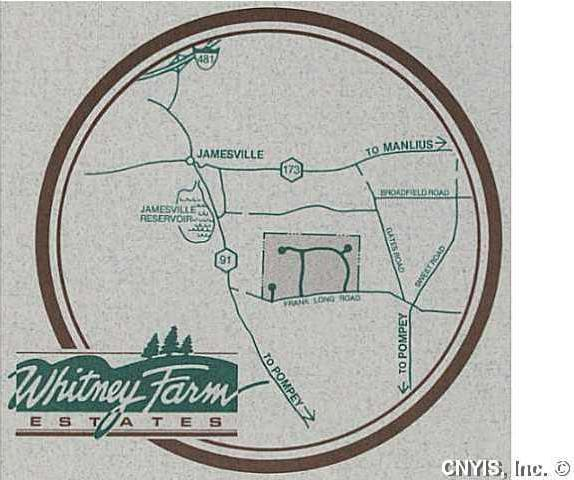 Lot 25 Whitney Farm Lane, Pompey, NY 13138