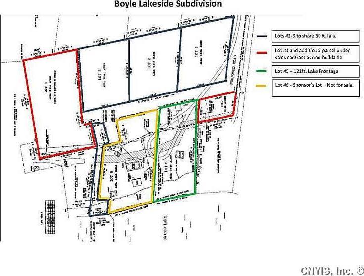 Lot 3 Firelane 6a Boyle Lakeside Subdivision, Owasco, NY 13021