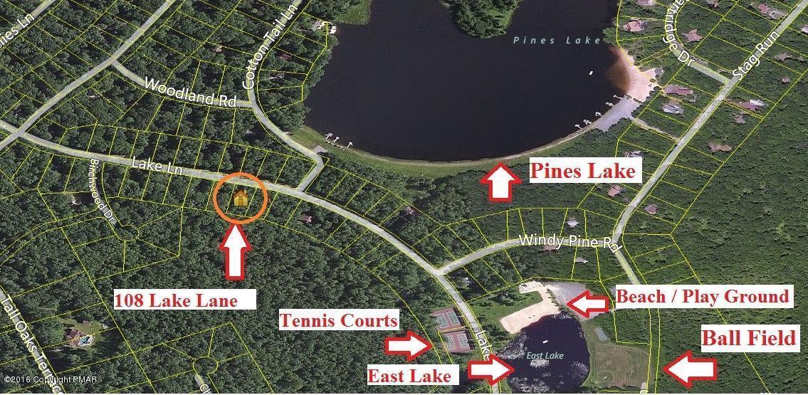 108 Lake Lane, Pocono Lake, PA 18347