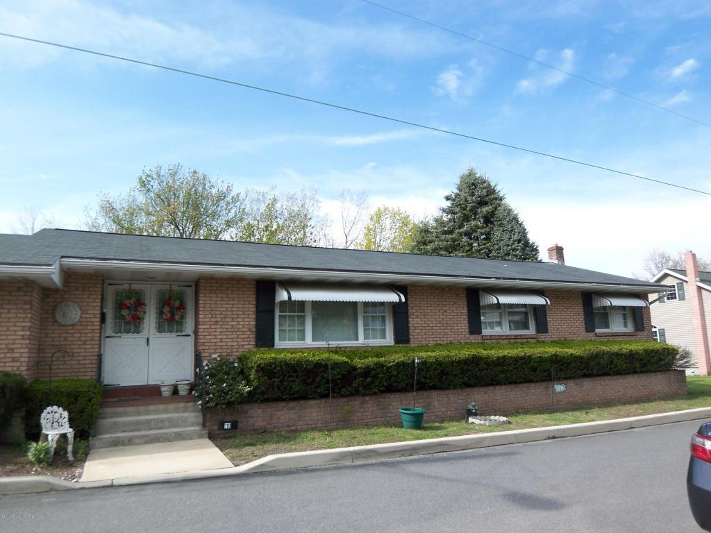 Brick Ranch for Sale @ 110 East Mill Street, Nesquehoning, PA