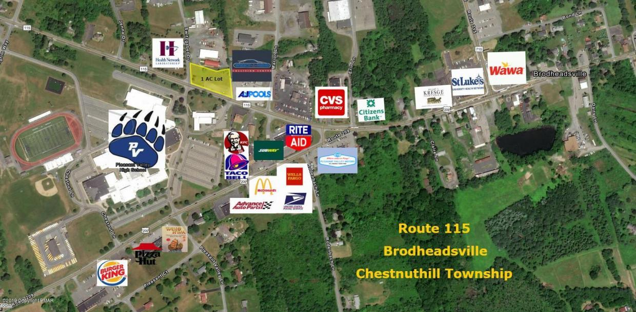 2152 Route 115, Brodheadsville, PA 18322