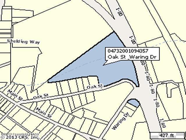 Oak Street & Waring Dr, Delaware Water Gap, PA 18327
