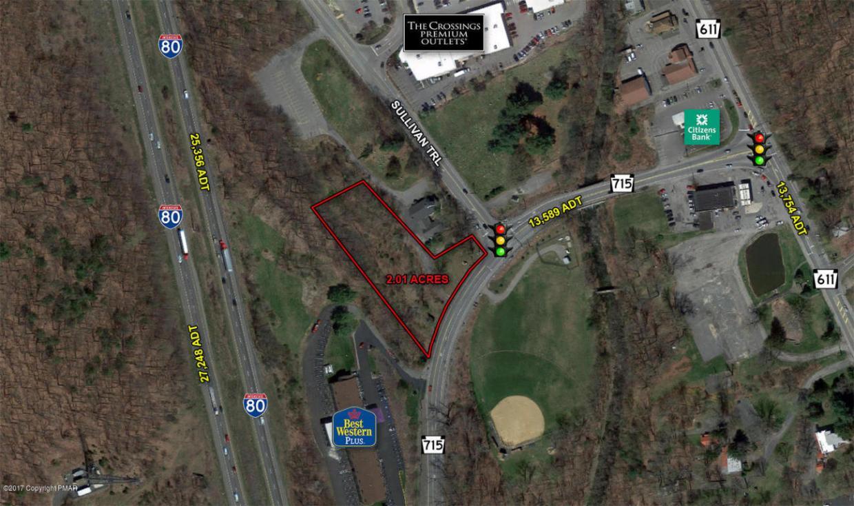 Route 715 & Sullivan Trail, Tannersville, PA 18372