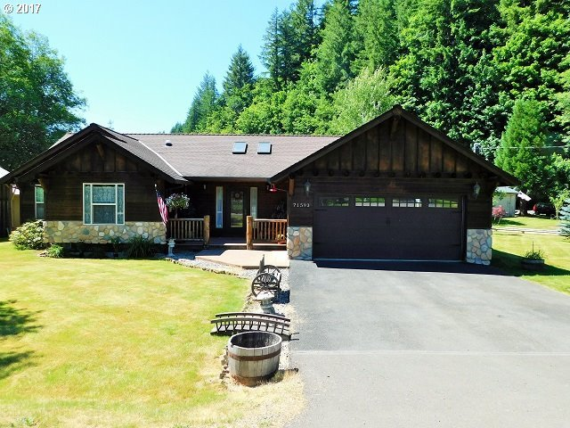 71593 Fishhawk Rd, Birkenfeld, OR 97016