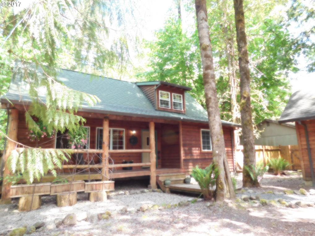 65615 E Timberline Dr, Rhododendron, OR 97049