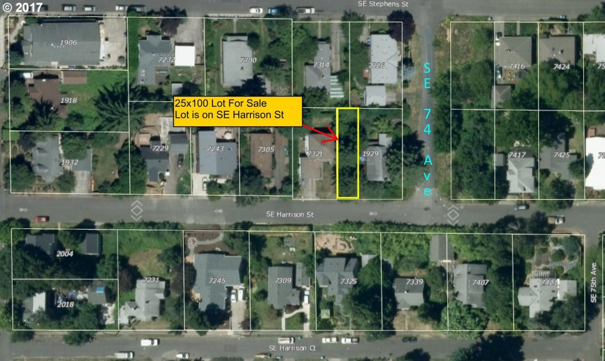7327 SE Harrison St, Portland, OR 97215